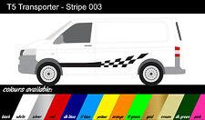 VW Transporteur T4 T5-à rayures côté x2-stickers / autocollants / graphiques REF003
