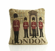"""London Guards Cushion Cover  Tapestry Design 18x18"""" (45x45cm)"""