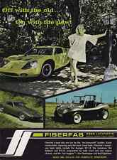 1968 FIBERFAB AVENGER GT-12 / JAMAICAN KIT CAR  ~  NICE ORIGINAL PRINT AD