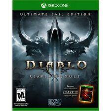 NEW Diablo III 3 Reaper of Souls Ultimate Evil Edition (Microsoft Xbox One 2014)