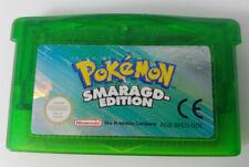 NINTENDO Game Boy Advance Pokemon Smaragd Edition