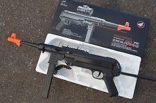 DE MP40 Spring Powered Airsoft Gun FPS 250 w/ Folding Rear
