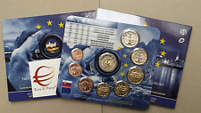 2016 9 monete 5,88 euro 2 € Presidenza EU SLOVACCHIA Slovaquie Slovakia Slowakei