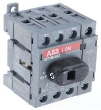 ABB NON FUSED SWITCH DISCONNECTOR 4-Poles 7.5kW 750V AC, DIN Rail Mounting