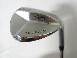 Used RH HONMA TW-W Single 58* Wedge - Wedge Flex Steel