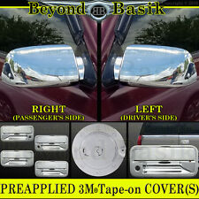 1995-1999 CHEVY TAHOE GMC YUKON Chrome Door Handle COVERS+Gas+Mirror+Tailgate