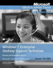 NEW Exam 70-685 Windows 7 Enterprise Desktop Support Technician Revised ...