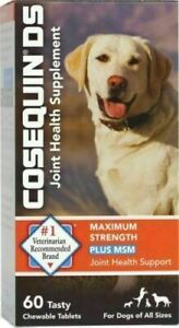 Cosequin Max Strength MSM & HA Joint Health (60 Tablets) Nutramax Exp 6/2023+