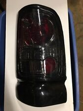 Black Euro Tail Light Rt -Smoke Lens, Dodge Ram Trucks; 211048 New Out Of Box!!