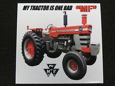 "Massey Ferguson ""My Tractor Is One Bad Mf"" Bumper Sticker/Decal"