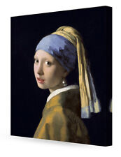 DecorArts Girl With A Pearl Earring Johannes Vermeer Reproduction Giclee Canvas