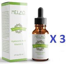 Amara Organics Retinol Serum 2.5 With Hyaluronic Acid and Vitamin E 30ml