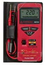 Amprobe Pocket Digital Multimeter w/Case Electrician Tools