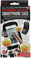 Black All-In-One Wonder Wallet Smart Phone Case Cover