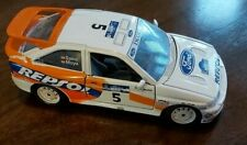 Ford Escort RS Cosworth Model Car RARE Scale 1/24 By Burago