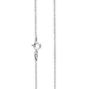 Mens 925 Sterling Silver Trace Chain Necklace 1.2 mm thick perfect gift Genuine