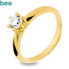 Diamond Solitaire 18k Fine Rings