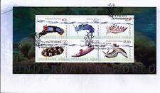 2012 Australia - Underwaterworld Mini Sheet FDC