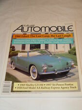 Collectible Automobile Magazine Month Year Vol 12 - No 6