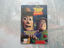 Notice Super nintendo / Snes Mode d'emploi Toy Story PAL original Booklet *
