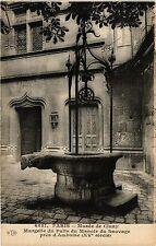 CPA Paris 5e-Musée de Cluny-Margelle du Puits du Manoir du Sauvage (323863)