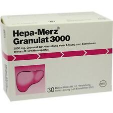 HEPA MERZ GRANULAT 3000 Granulat 30St MERZ PHARMA 7620616
