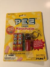 Pez Candy Keychain New sealed Monkey 1999 Basic Fun #931-0