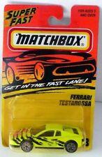 NOC VINTAGE MATCHBOX FERRARI TESTAROSSA CAR NO.78 CAR HAS DATE 1986 CAR HAS 1996