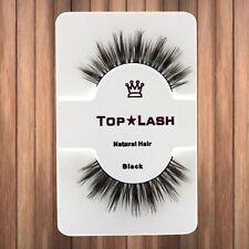 1Pair Natural Mink Handmade Thick False Eyelashes Long Eye Lashes Extension