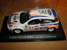 Altaya  1/43  Ford Focus WRC Madeira/Prata  2001     MIB (08-008)