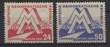 DDR MiNr. 282-283 (Messe 1951) kpl. postfrisch