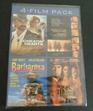 4 Film Pack DVD Cheatin Hearts + South of Heaven + Barbarosa + Texas Funeral NEW