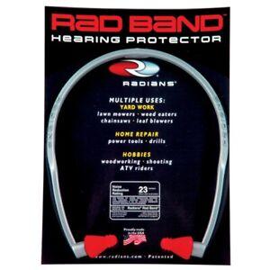Radians Super Soft Band Ear Plug Red Tips Hearing Protection NRR23 Rad RB1150
