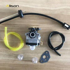 Carburetor & Fuel Line Kit for Troy-Bilt TB144 Cultivator TB26CO TB415CS TB475S