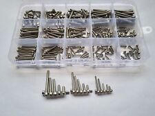 300PCS M2 M2.5 M3 Allen Bolt Hex Socket Round Smooth Cap Head Screw Assortment