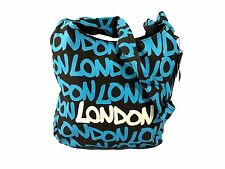 Robin Ruth London Souvenir Bag - Eva Sling Bag Black/Blue
