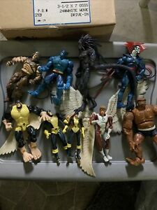 """Marvel Legends 6"""" Action Figure loose lot of 9 X-men Blackheart The Thing"""