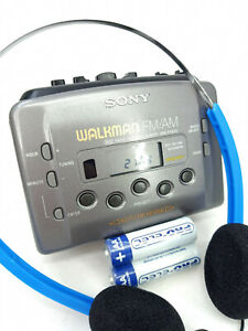 Sony Walkman WM-FX433 AM FM Radio Personal Portable Cassette Tape Player Stereo