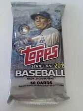 2015 Topps Series 1 HTA Baseball 50 Card Pack Autograph Game-used Print Plates
