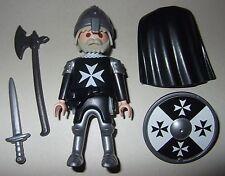 16482, Ritter, Malteser, Kreuzritter, mit Helm, Langaxt, Schwert und Schild