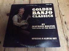 maurice boyler(king of the banjo) golden banjo classics 2 album set