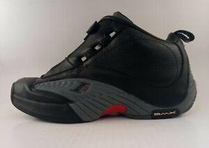 Reebok Allen Iverson Answer IV 4 Black DMX Basketball Size 11.5 Sneakers Shoes
