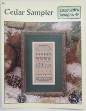 Cedar Sampler Elizabeth's Design Counted Cross Stitch Instruction & Pattern Book