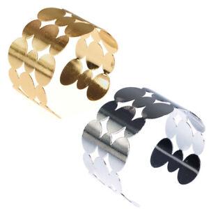Handgefertigt massiver Armreif gold silber Vintage Armspange Armband Armschmuck
