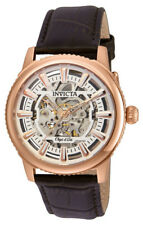 Invicta Objet d' Art 22612 Men's Round Analog Automatic Rose Gold Tone Watch