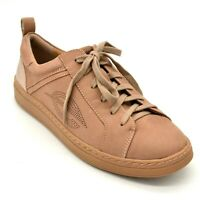Earth Womens Zinnia Sneaker Size 9.5M Blush Leather Lace Up Cushion Footbed NEW