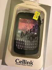 BlackBerry 9360 Curve Fitted Silicon Case Cover in Black SCC5852BK by Cellink