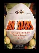 DINOSAURS - COMPLETE SEASON 1 & 2 (Jim Henson)  Region 2 compatible - NEW DVD