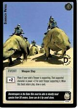 STAR WARS JEDI KNIGHTS GOLD FOIL RARE CARD 116R