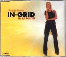 In-Grid - Tu Es Foutu (Tu M'as Promis...) - CDM - 2002 - Eurohouse 5TR France